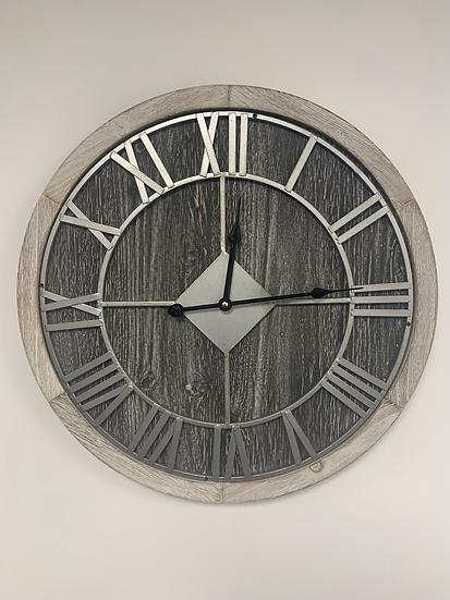 Barrel End Clock
