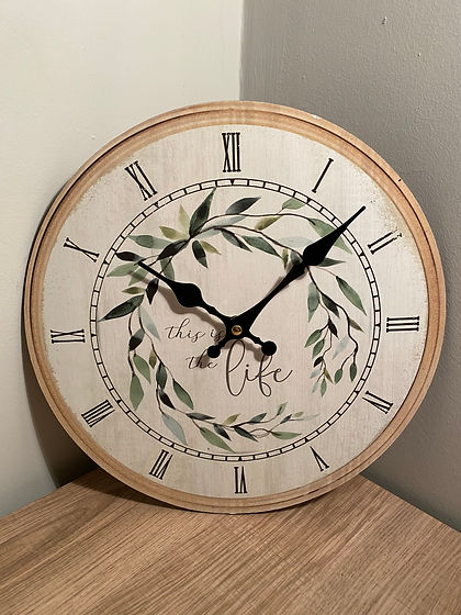 This is the Life Wall Clock.JPG