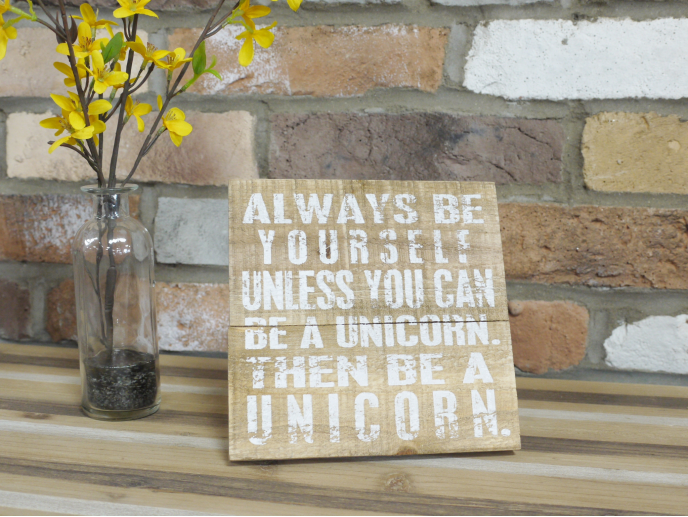 Unicorn Sign
