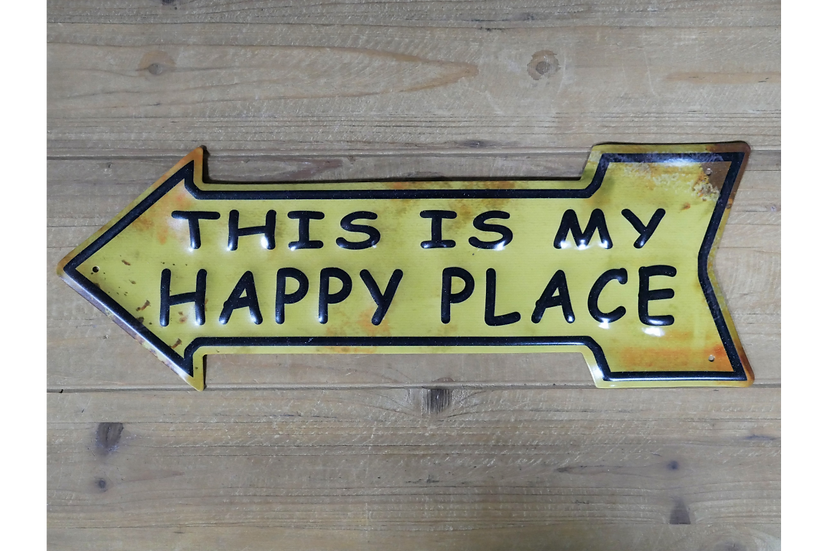 Sign - Happy Place