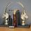 Thumbnail: Pair of Antelope Book Ends
