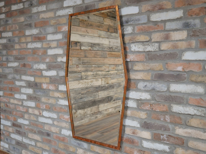 Copper Effect Mirror