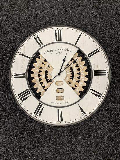 Date Dial Clock