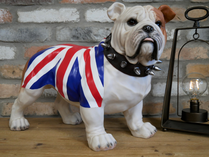 Standing British Bulldog