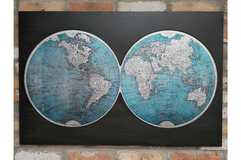 Map of the World Wall Decoration