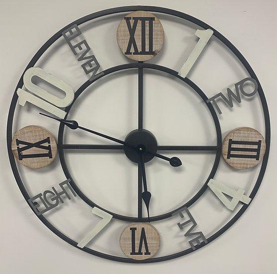Multi Numeral Clock