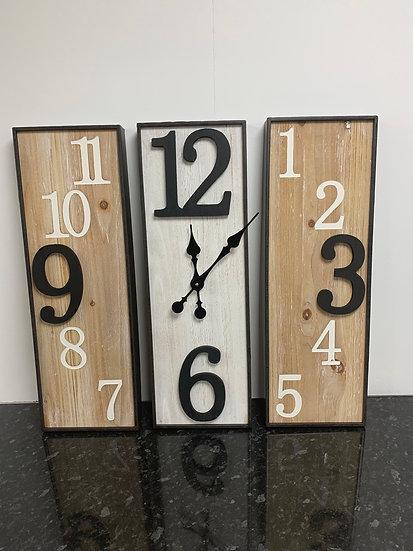 3 Piece Clock