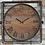 Thumbnail: Rustic Wood Clock