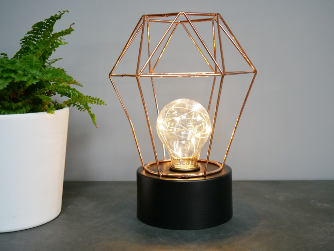 Rose Gold Desk Lamp