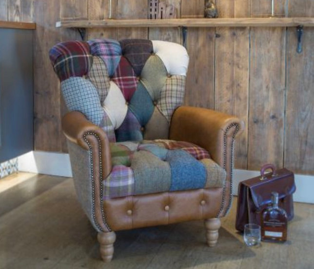 Harle Patchwork Chair