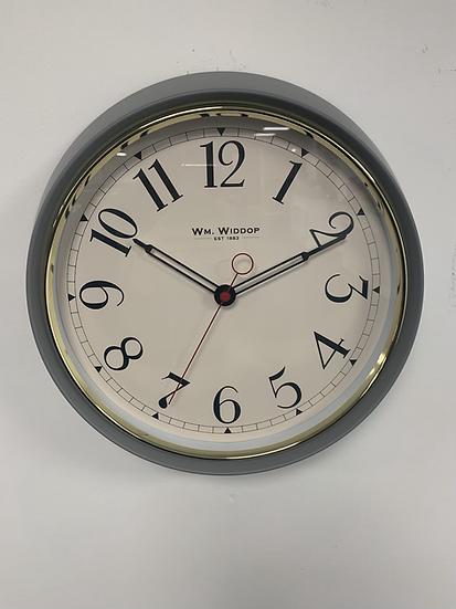 Widdop Grey Clock