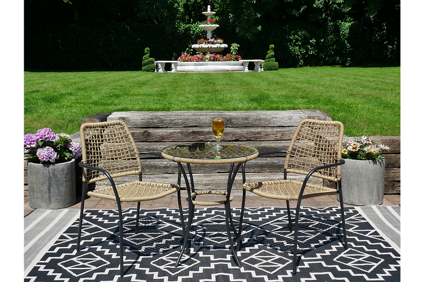 The Amalfi Table & Two Chairs