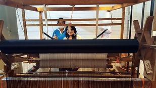 Nirawan at Silk Hand Loom.jpg