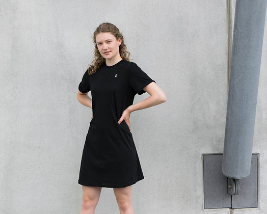 T-SHIRT DRESS PLAIN