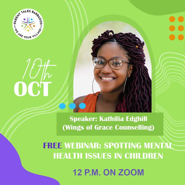 Spotting Mental Health Issues In Children
