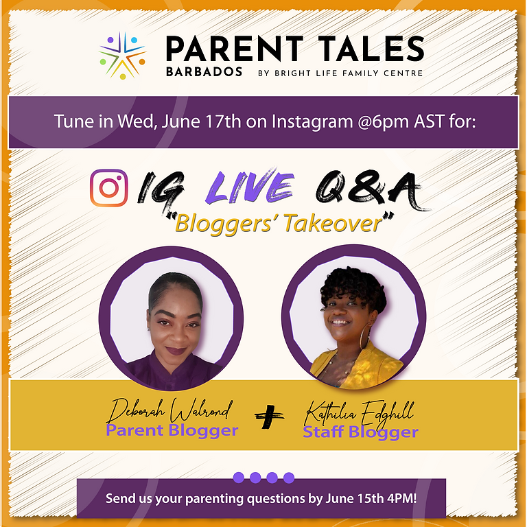 """IG LIVE Q&A """"Bloggers Takeover"""""""
