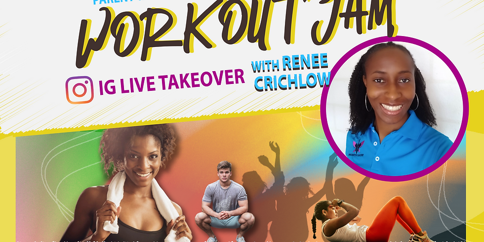 WORKOUT JAM IG TAKEOVER with Renee Crichlow