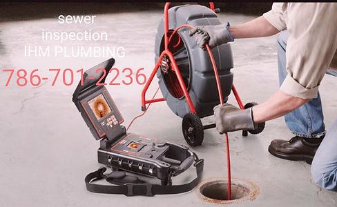 Plumber Camera inspection