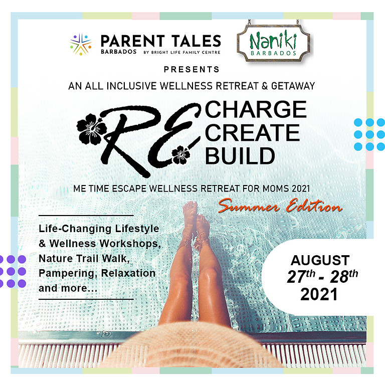 Me Time Escape Wellness Retreat for Moms (Summer Edition)