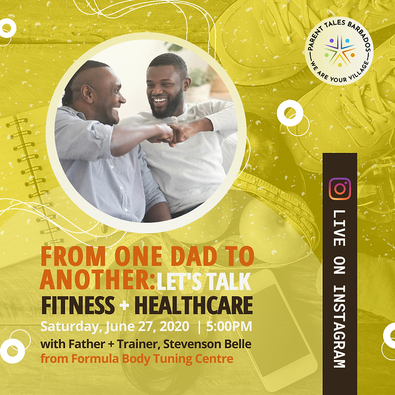 From One Dad to Another: Let's Talk Fitness + Healthcare