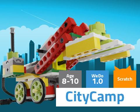 CityCamp WeDo 1.0 Scratch