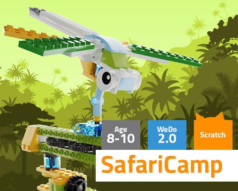 SafariCamp WeDo 2.0 Scratch