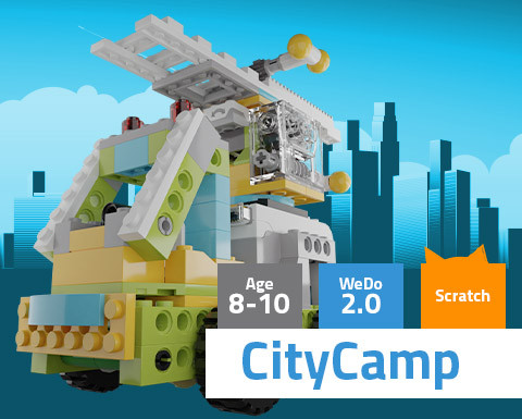 CityCamp WeDo 2.0 Scratch