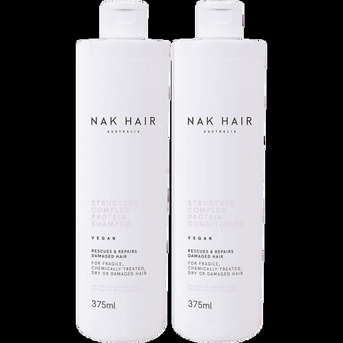 NAK Structure Complex Shampoo & Conditioner