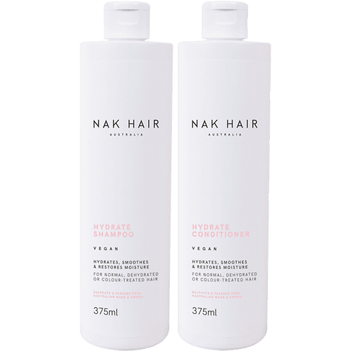 NAK Hydrate Shampoo & Conditioner