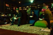 ホームシアターでゲーム.jpg