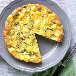 Potato and Kale Frittata (Italian Omelet