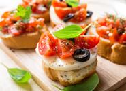 Tartare de légumes en Crostinis