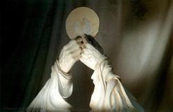 les mains de prières