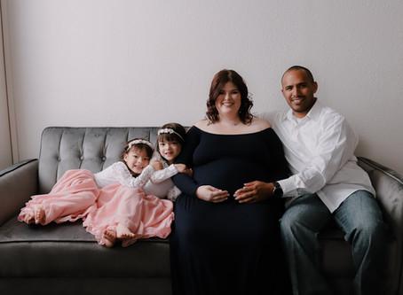 Vila Family Maternity Portraits