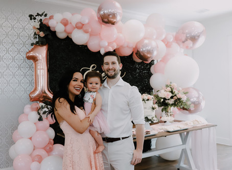 Everly's 1st Birthday Party