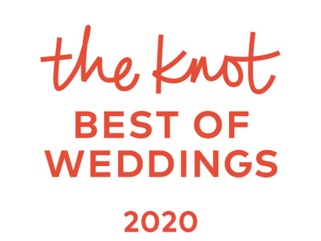 Winner of TheKnot Best of 2020 Weddings
