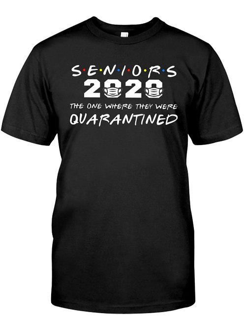 Covid19-Senior Quarantined Classic Tees
