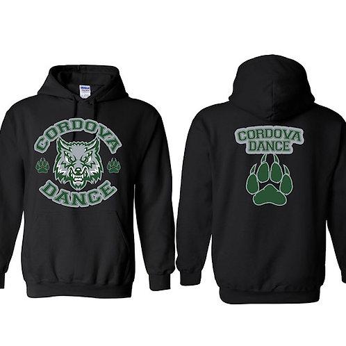 Cordova High Black Hoodie