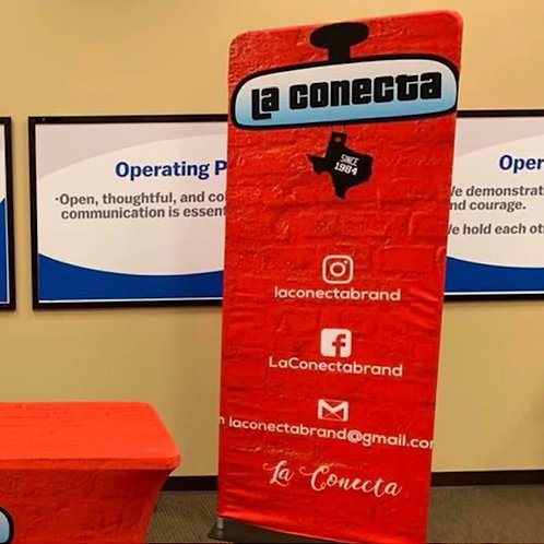 Roll-Up Banner with Stand