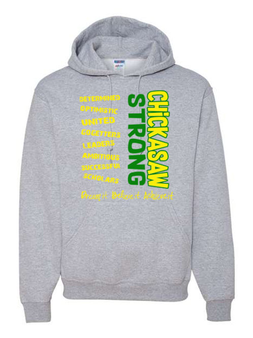 Chickasaw Strong Hoodie