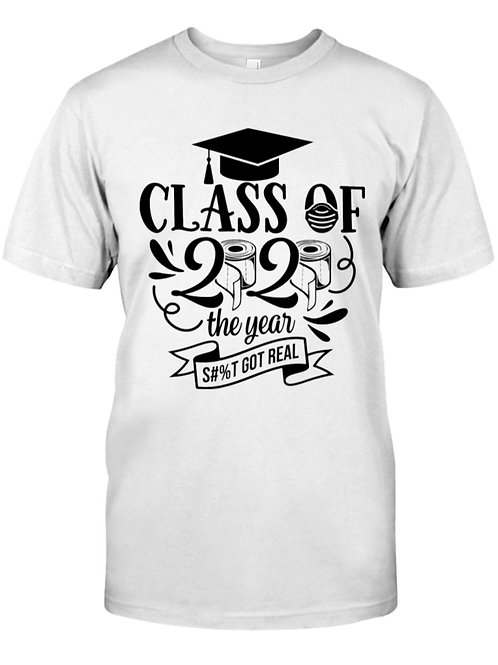 Covid19-Class 2020 The Year Classic Tees