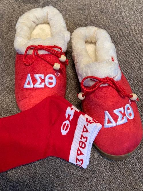 Delta Sigma Theta Slippers