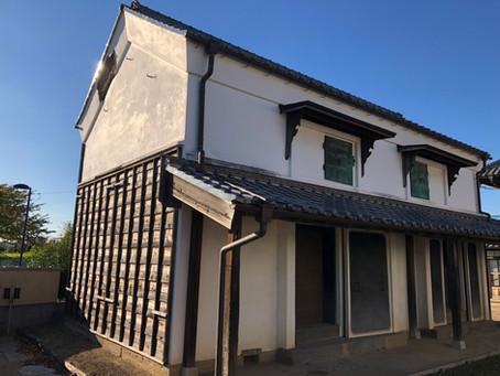 リフォーム施工事例 市指定文化財 蔵外壁改修工事