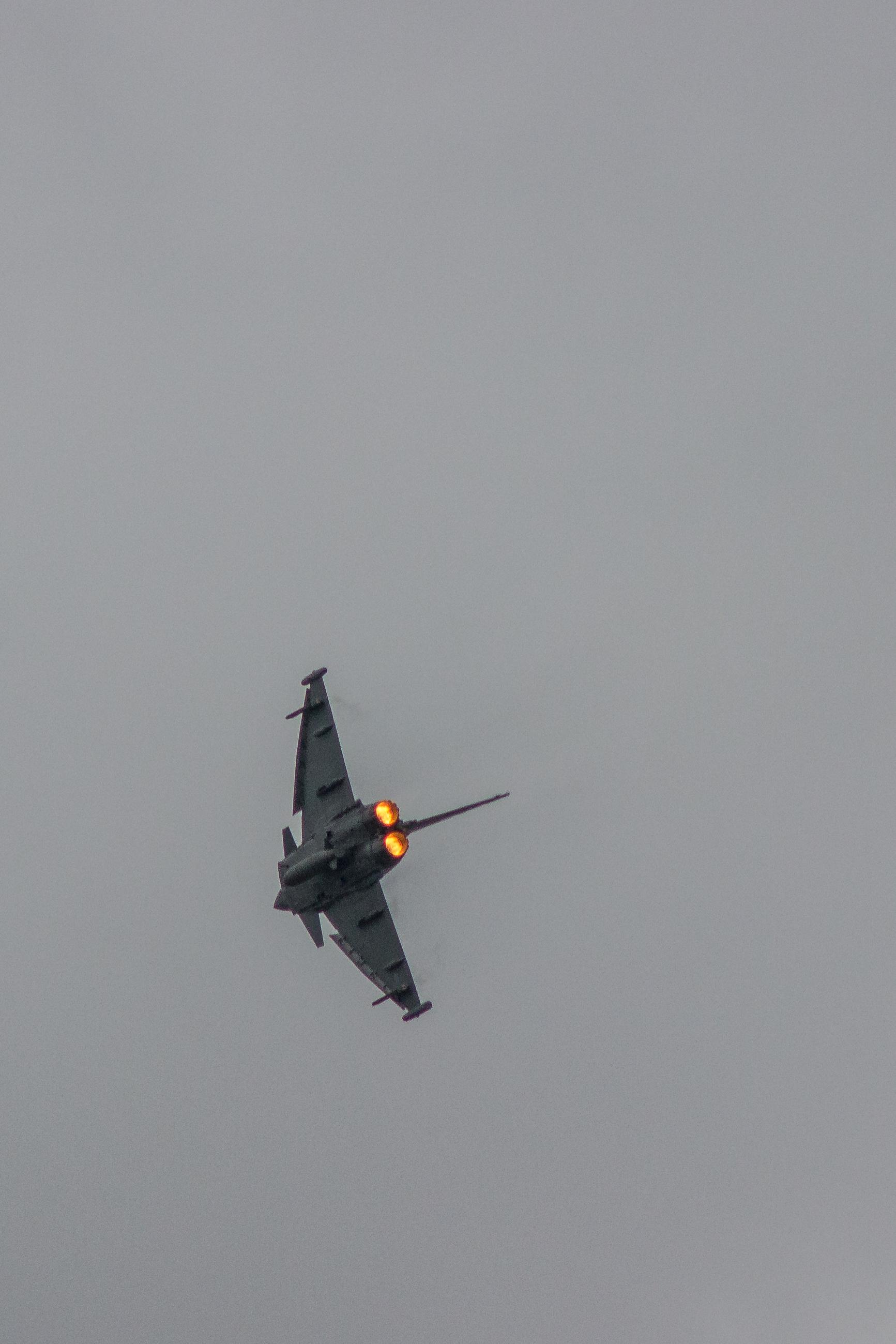 European fighter Tornado aircraft