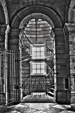 stairs 8 B&W