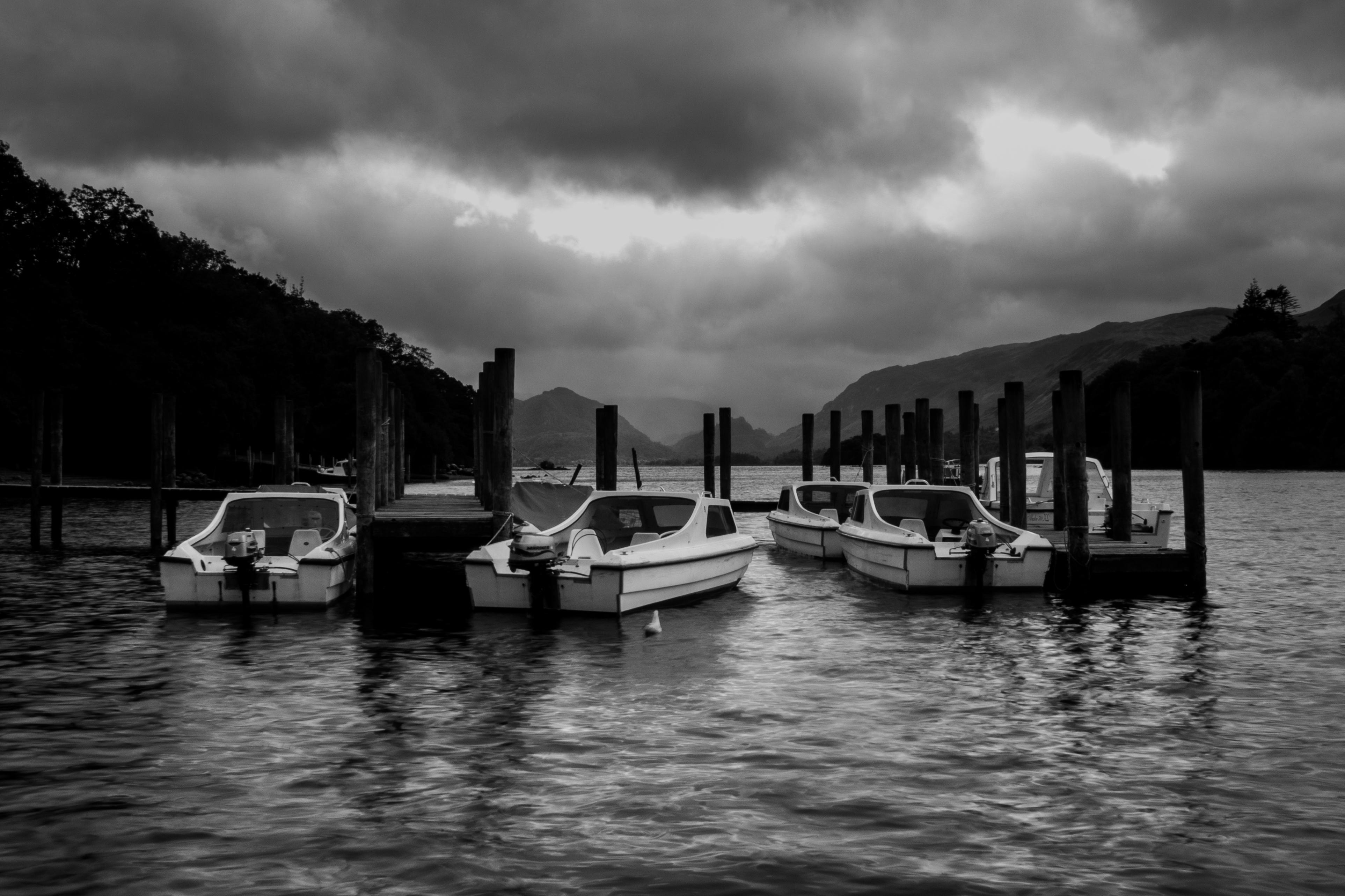 Boats on Derwentwater