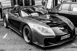 Northumberland Street car show