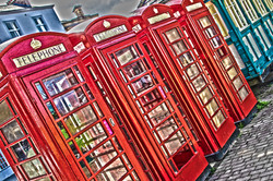 telephone boxes Ripon