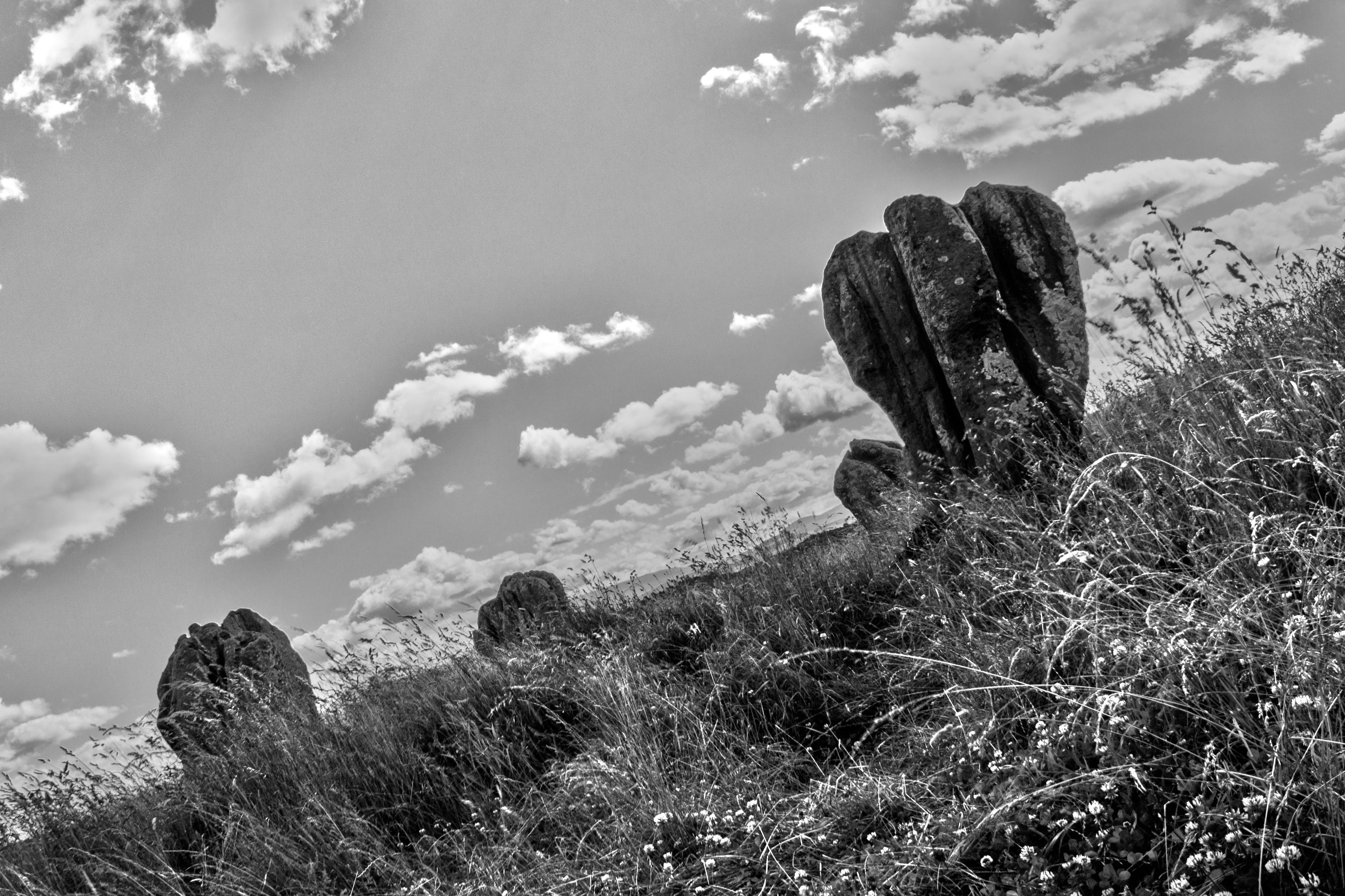 Duddo standing stones