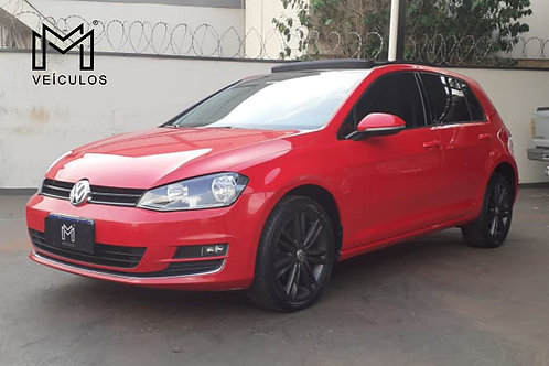 Golf Highine  TSI  1.4  Automático  Internior Caramelo  2015 -📞/📱 Whatsapp: 16